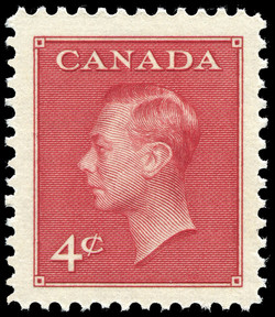 King George VI  Postage Stamp