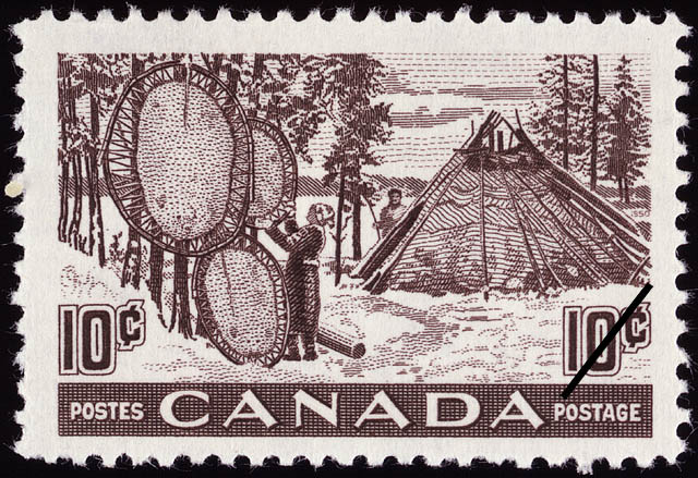 Canada's Fur Resources Canada Postage Stamp