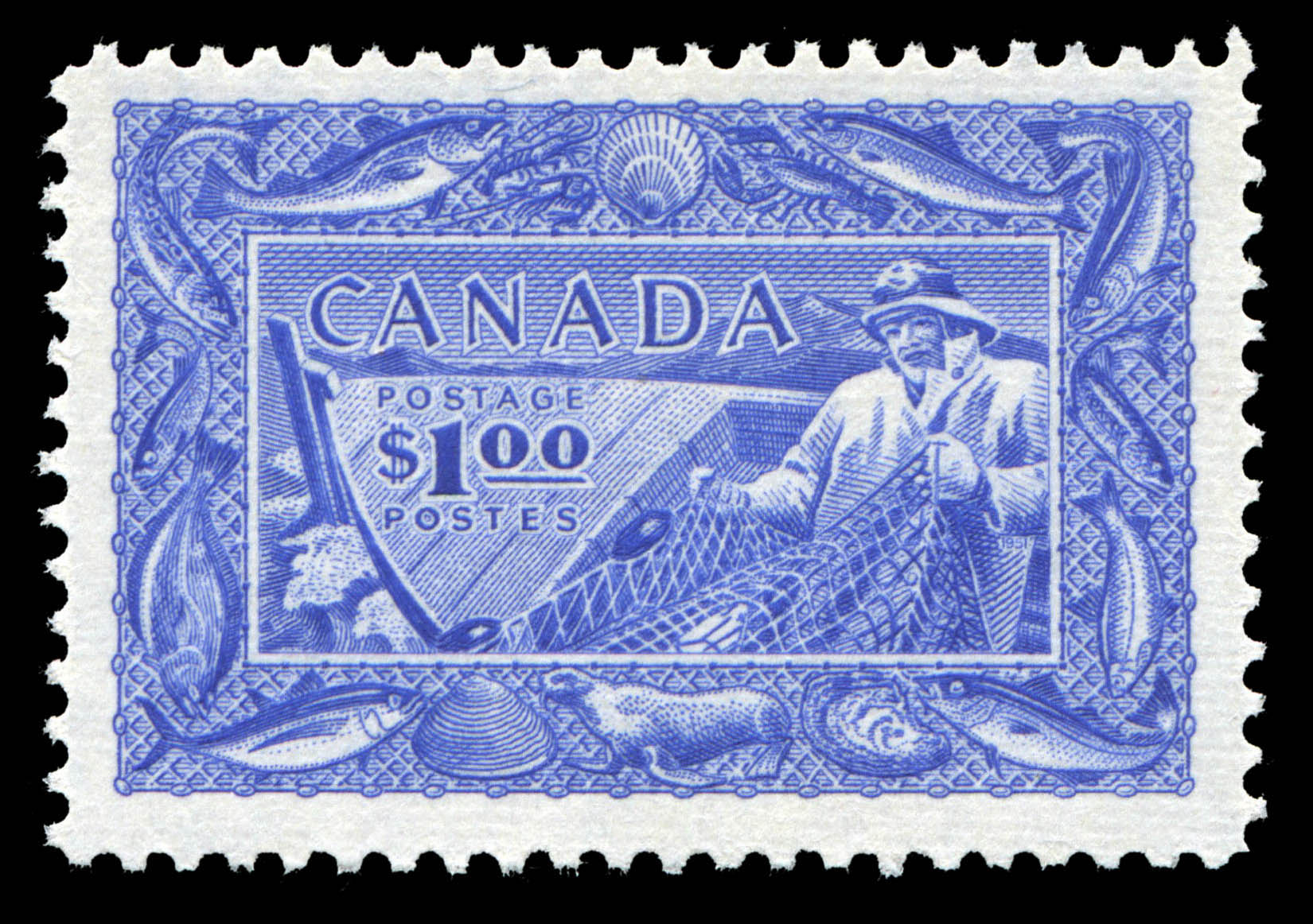Canada's Fish Resources Canada Postage Stamp