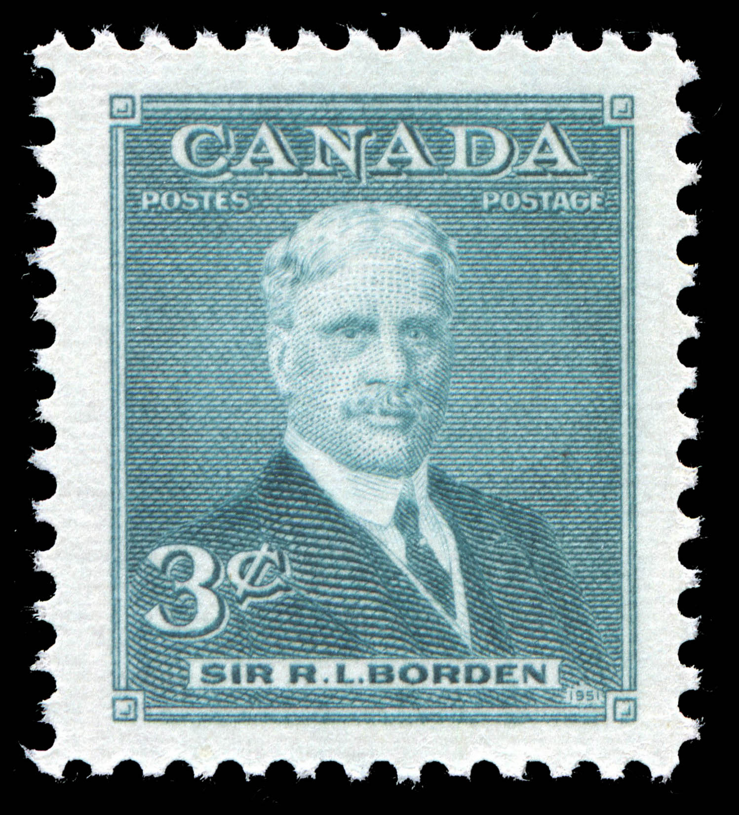 Sir R.L. Borden Canada Postage Stamp