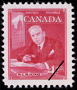 W.L.M. King  Postage Stamp