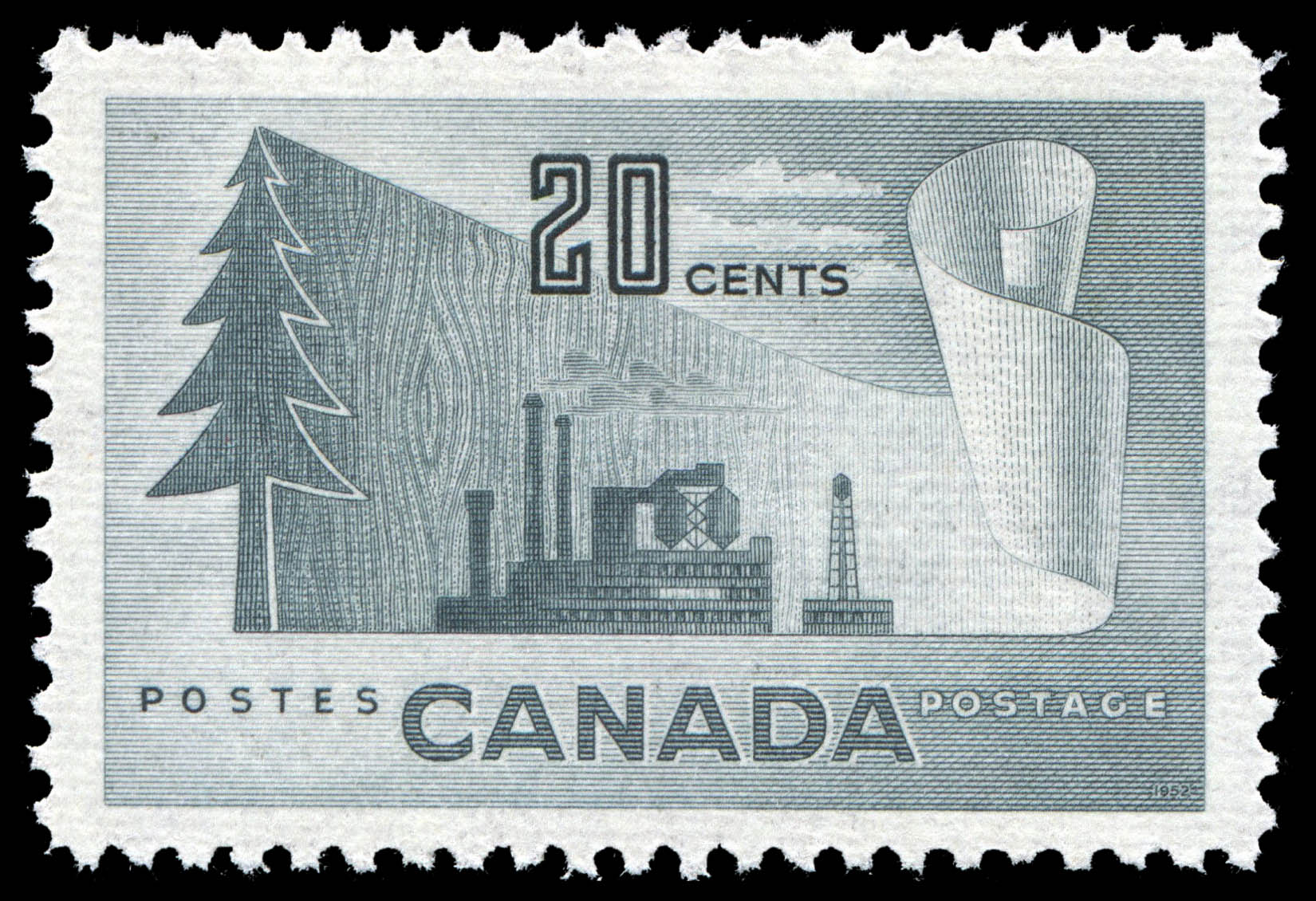 Forestry Products of Canada Canada Postage Stamp