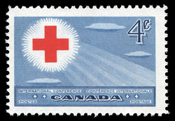 International Red Cross Conference  Postage Stamp