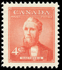 Mackenzie Canada Postage Stamp | Prime Ministers