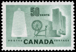Canada's Textile Industry Canada Postage Stamp