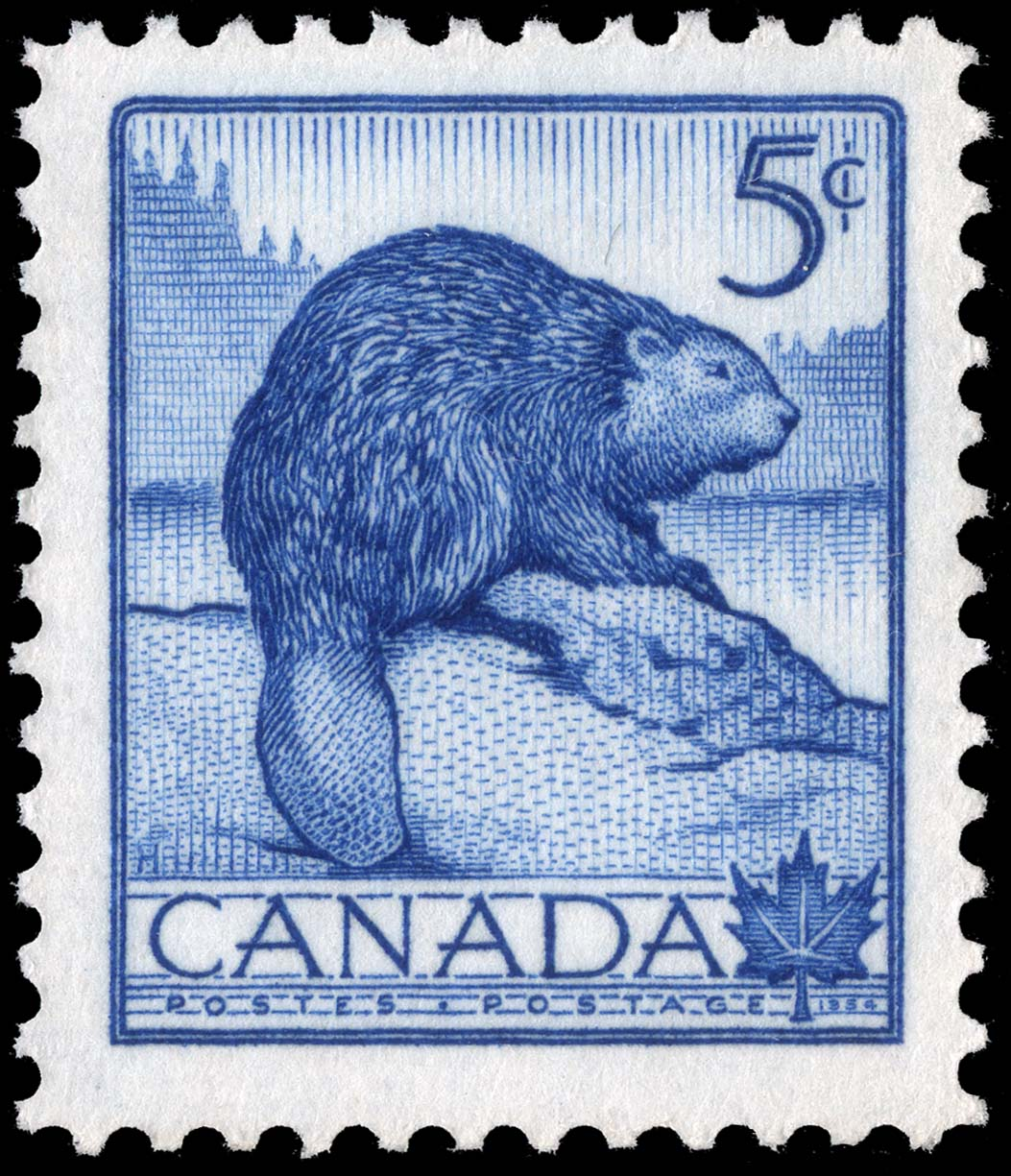 Beaver Canada Postage Stamp | National Wildlife