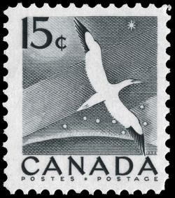 Gannet, Morus Bassanus Canada Postage Stamp
