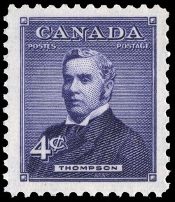 Thompson Canada Postage Stamp | Prime Ministers