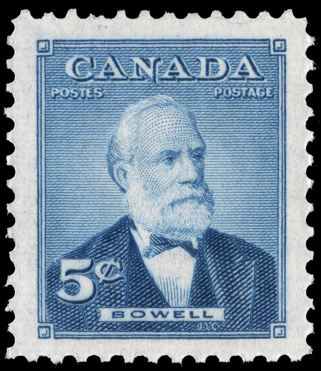 Bowell Canada Postage Stamp
