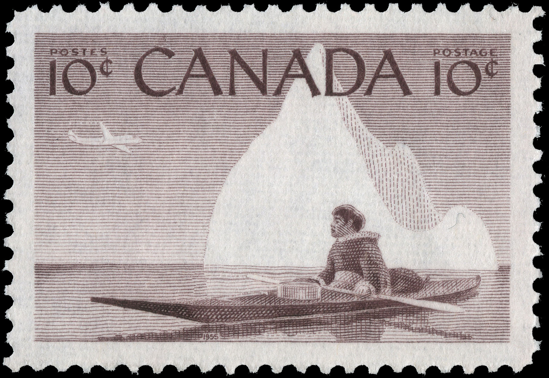 Inuit Hunter Canada Postage Stamp