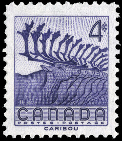 Caribou Canada Postage Stamp | National Wildlife