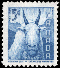 Mountain Goat Canada Postage Stamp | National Wildlife