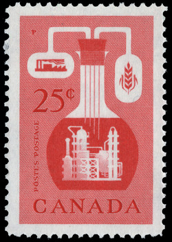 Canadian Chemical Industry Canada Postage Stamp