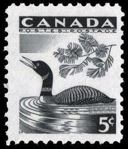 Common Loon Canada Postage Stamp | National Wildlife