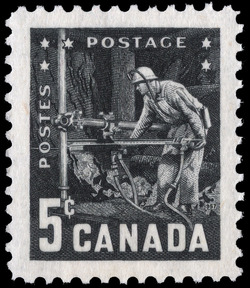 Mining Industries of Canada Canada Postage Stamp
