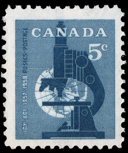 International Geophysical Year, 1957-1958 Canada Postage Stamp