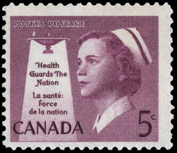 Health Guards the Nation Canada Postage Stamp