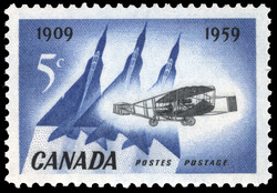 Golden Anniversary of Flight, 1909-1959 Canada Postage Stamp