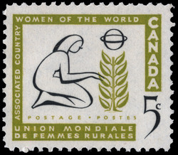 Associated Country Women of the World Canada Postage Stamp