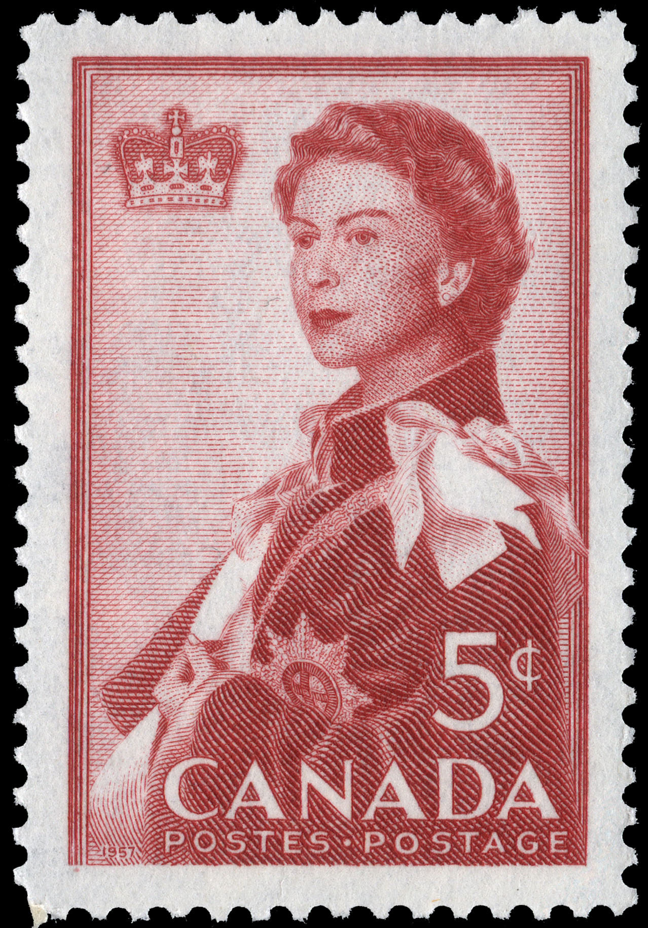 Royal Visit, 1959 Canada Postage Stamp