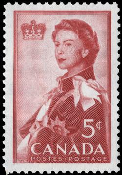 Royal Visit, 1959 Canada Postage Stamp