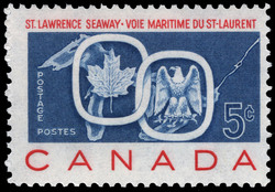St. Lawrence Seaway Canada Postage Stamp