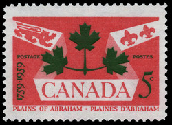 Plains of Abraham, 1759-1959 Canada Postage Stamp