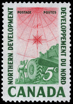 Northern Development Canada Postage Stamp