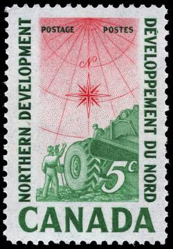 Northern Development Canada Postage Stamp