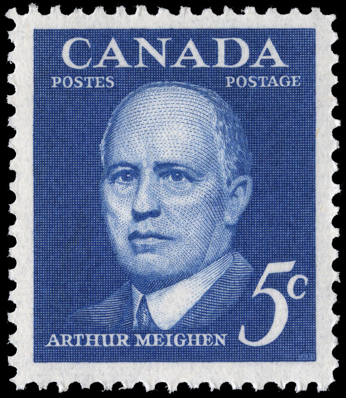 Arthur Meighen Canada Postage Stamp
