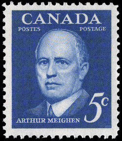 Arthur Meighen Canada Postage Stamp | Prime Ministers