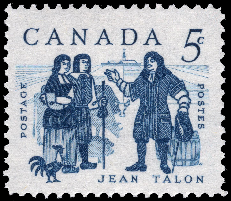 Jean Talon Canada Postage Stamp