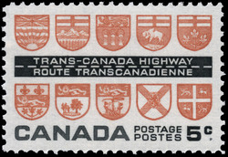 Trans-Canada Highway Canada Postage Stamp