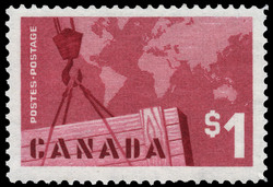Export Trade Canada Postage Stamp