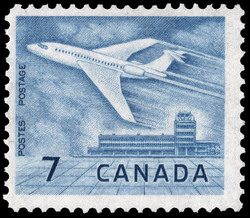 Jet Aircraft Canada Postage Stamp