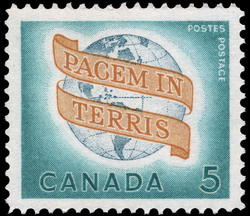 Pacem in Terris, Peace on Earth Canada Postage Stamp