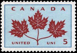 United Canada Postage Stamp | Floral Emblems