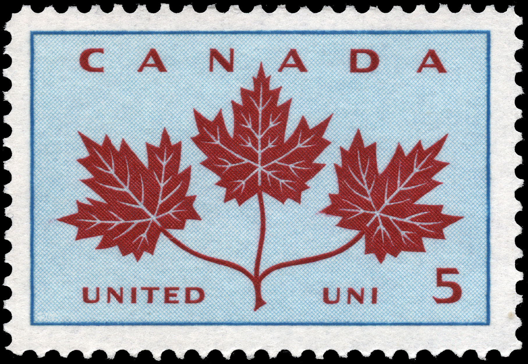 United Canada Postage Stamp