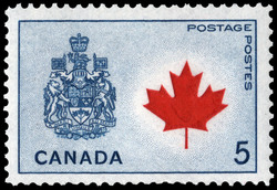 Canada Coat of Arms Canada Postage Stamp | Floral Emblems