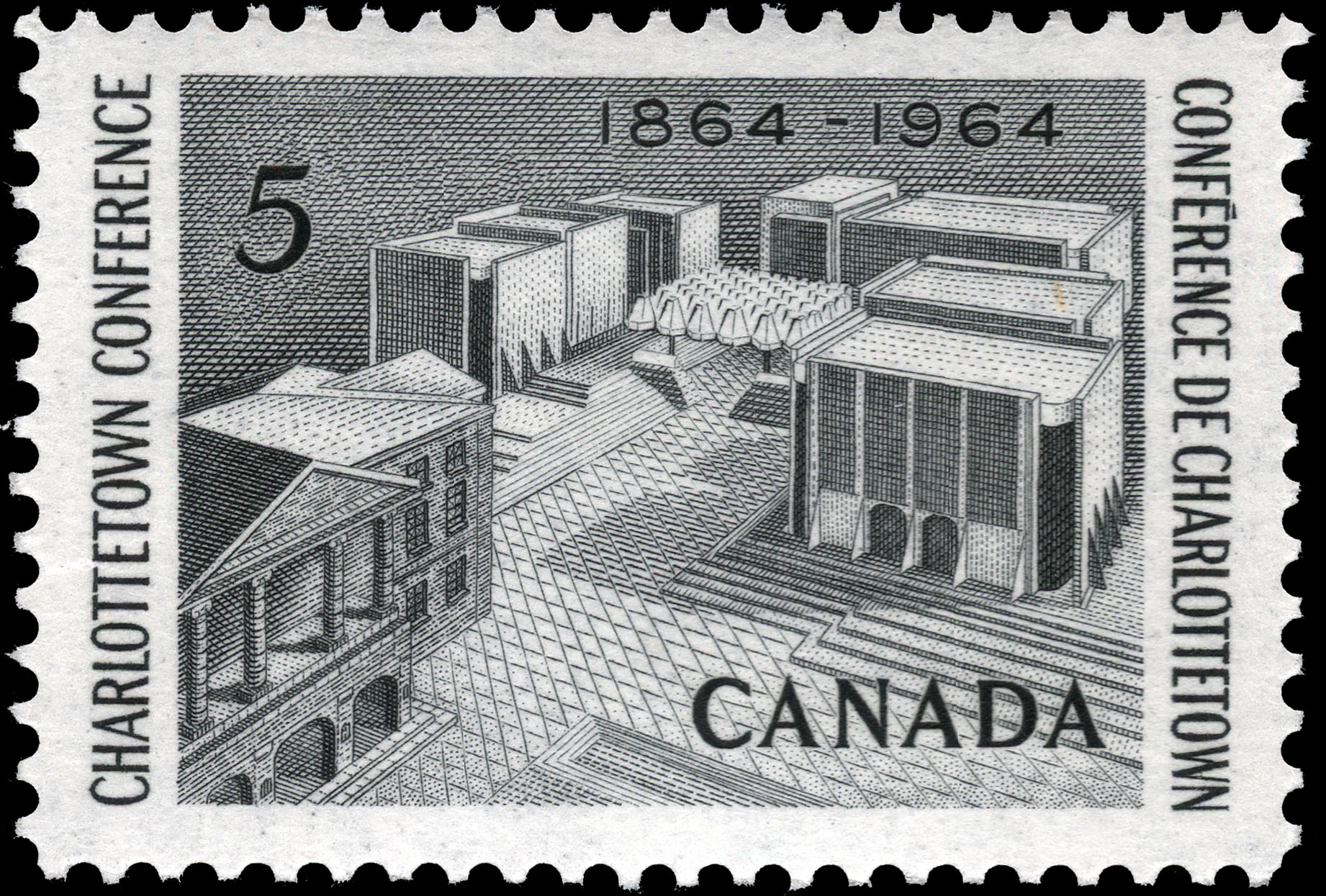 Charlottetown Conference, 1864-1964 Canada Postage Stamp