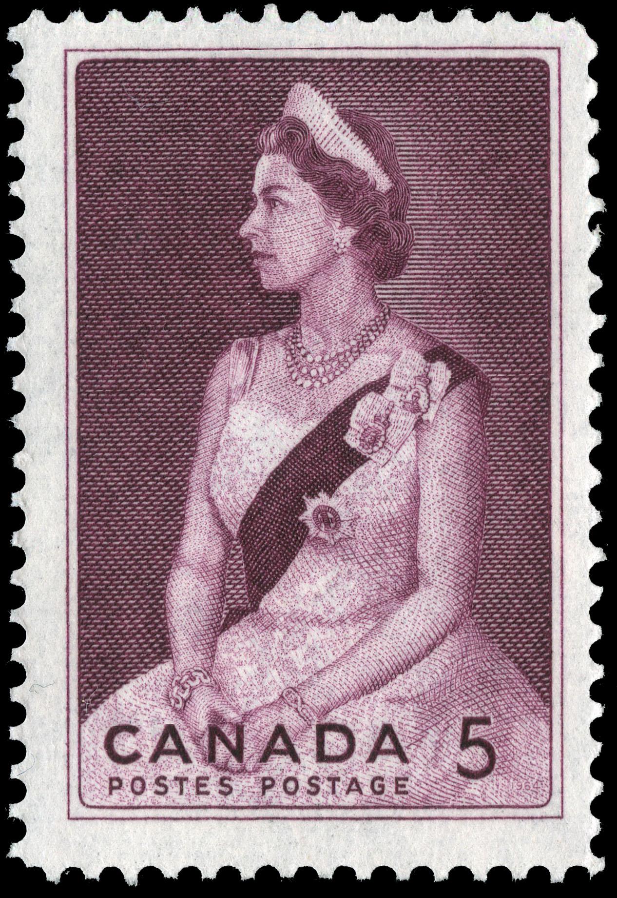 Royal Visit, 1964 Canada Postage Stamp