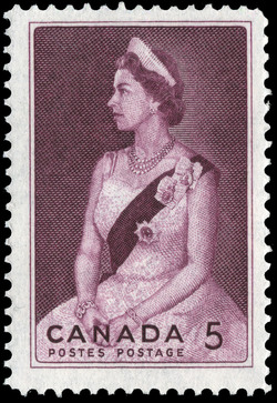 Royal Visit, 1964 Canada Postage Stamp
