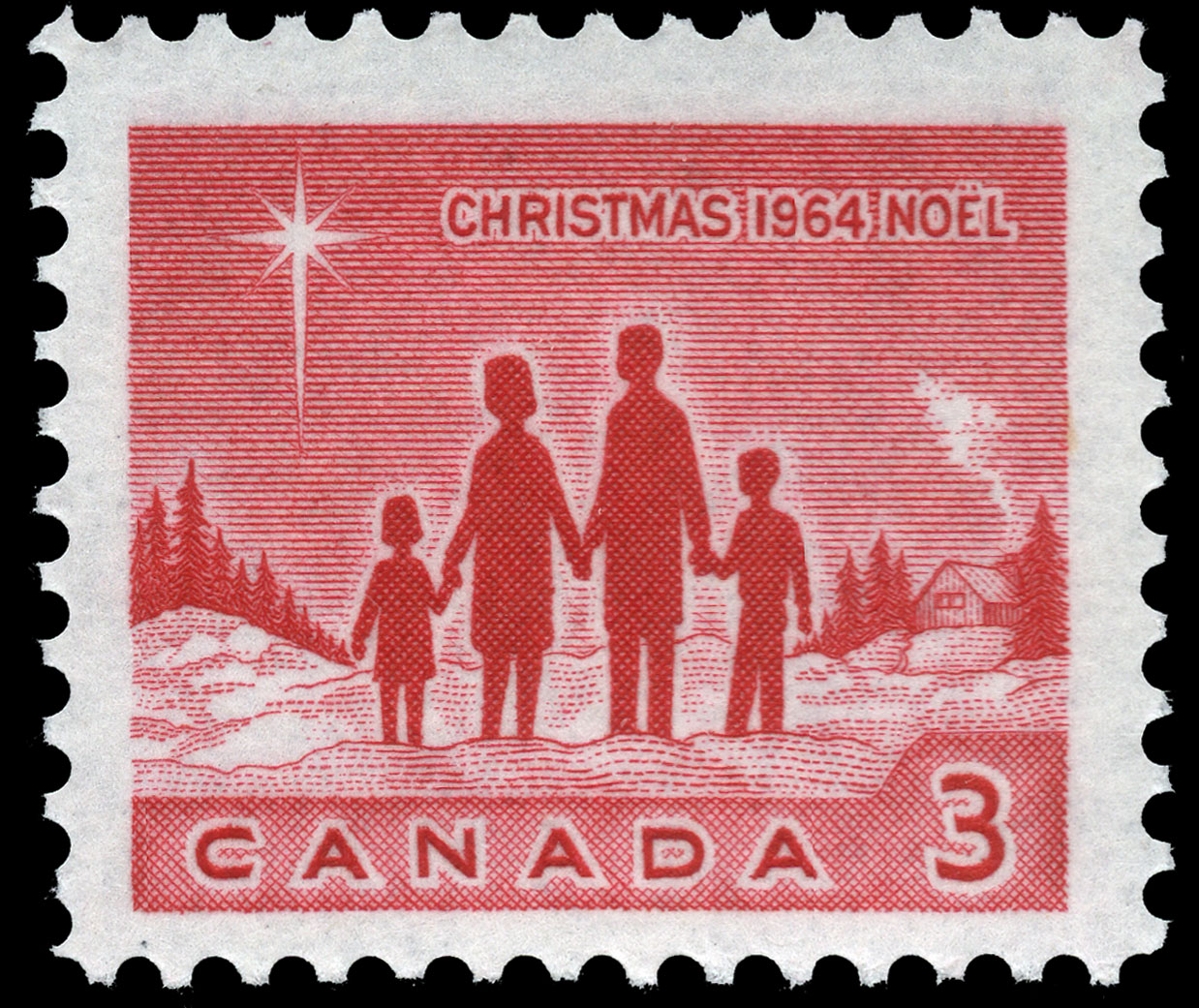Family Canada Postage Stamp