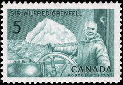 Sir Wilfred Grenfell Canada Postage Stamp