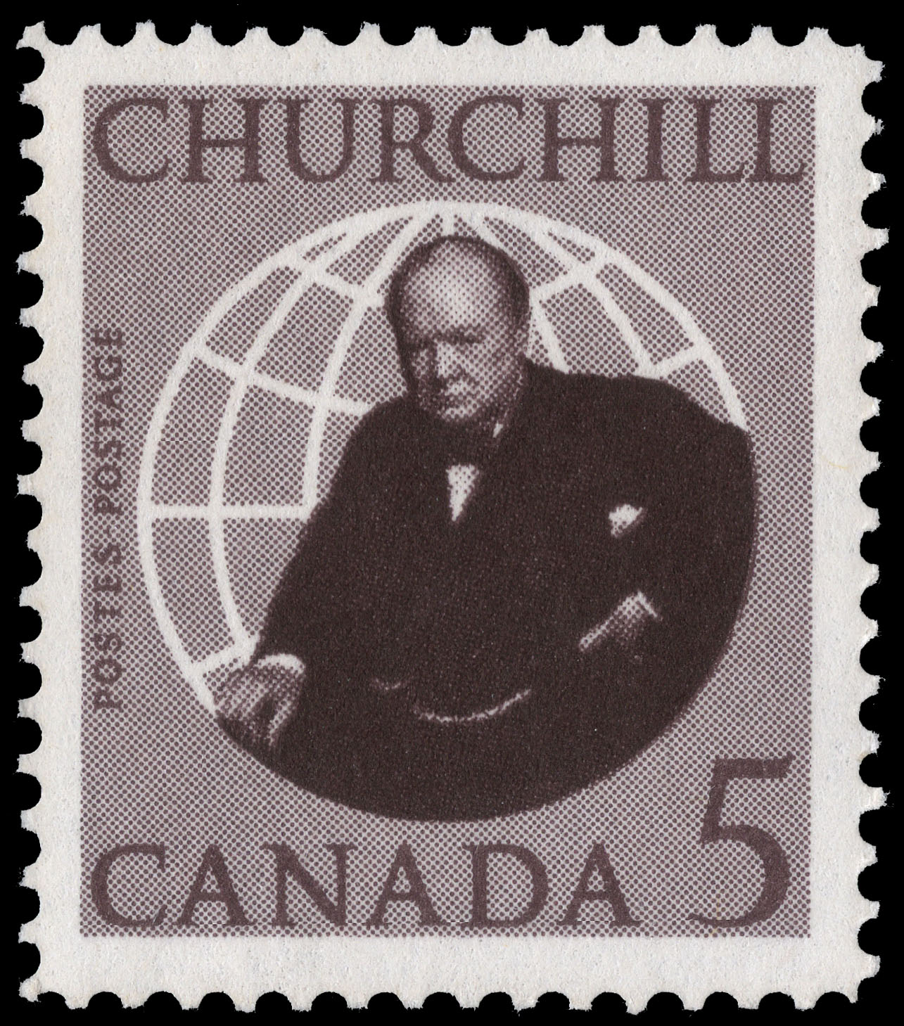 Churchill Canada Postage Stamp