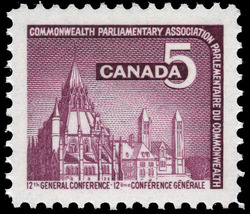 Commonwealth Parliamentary Association, 12th General Conference Canada Postage Stamp