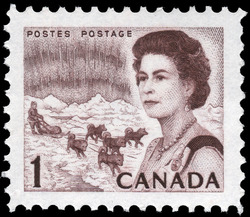 Centennial Issue Canadian Postage Stamp Series
