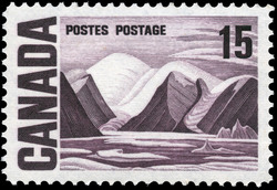 Greenland Mountains Canada Postage Stamp | Centennial Issue