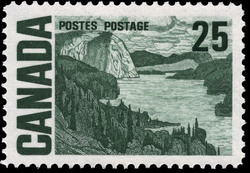 The Solemn Land Canada Postage Stamp | Centennial Issue