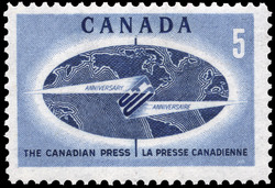 The Canadian Press, 50th Anniversary Canada Postage Stamp
